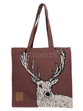 sac cerf marron